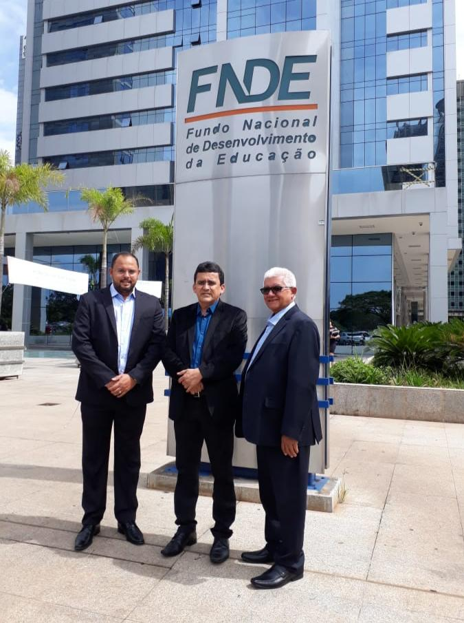 Pedro Henrique, Naldinho e Valdemir. Foto: Assessoria